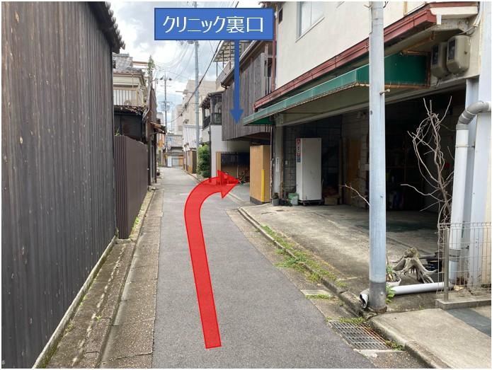 検査場所への道順4